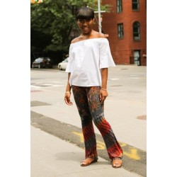 Multi-Color Boot Cut Leggings